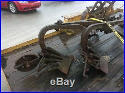 John deere trip plow steal wheels in working condition
