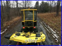 John deere x700 snow plowith62 cut deck