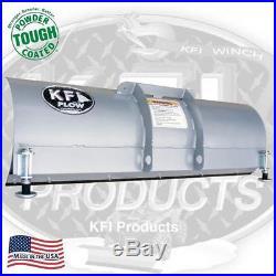 KFI 54 Snow Plow Kit John Deere 04-06 Trail Buck 500/650 Blade/Push Tube/Mount