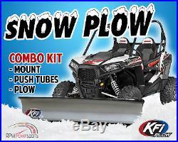 KFI 60 Snow Plow Steel Blade & Mount Kit John Deere Gator XUV 550 560 590i