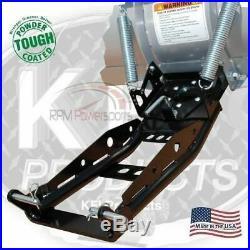 KFI 60 Snow Plow Steel Blade & Mount Kit John Deere Gator XUV 625i 825i 850D