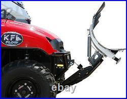 KFI 66 Steel Straight Blade Snow Plow Kit'11-'18 John Deere Gator 825i / 825E