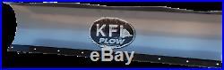 KFI 72 Snow Plow Blade Mount Combo Kit John Deere Gator HPX XUV 850D 620i