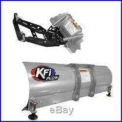 KFI 72 Snow Plow Kit For 2016-2017 John Deere Gator XUV 590i/590i S4