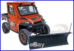 KFI 72 Snow Plow Poly Blade & Mount Kit John Deere Gator XUV 625i 825i 850D