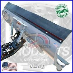 KFI 72 Snow Plow Steel Blade & Mount Kit John Deere Gator HPX XUV 850D 620i