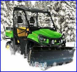 KFI 72 UTV Poly Blade Snow Plow Kit for 2012-2015 John Deere Gator XUV 550