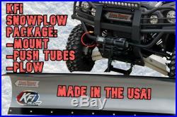 KFI ATV 60 Snow Plow Kit Combo'11-17 Arctic Cat 450 XC