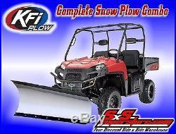 KFI UTV 60 Tapered Snow Plow Kit John Deere Gator XUV 550 XUV550 S4 2012-2015