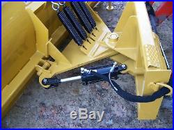 NEW 96 8' SNOW PLOW SKID STEER LOADER, Quick Attach- bobcat Tractors John deere