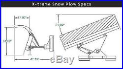 NEW 9', 108 SNOW PLOW SKID STEER LOADER, Quick Attach- bobcat Tractors John deere
