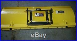 NICE John Deere 54 Quick Attach Blade Plow 445 455 425 X Series EXCELLENT SHAPE