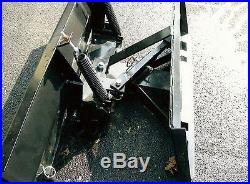 New 8', 96 Manual Snow Plow Blade John Deere Tractor 300,400 500 Series Loader