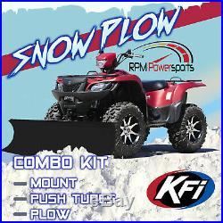 New KFI 50 Flex Blade Snow Plow & Mount 2004-2006 John Deere Buck 500 ATV