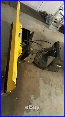Nice John Deere 54 Blade Plow Quick Hitch Power Angle 316 318 322 330 332