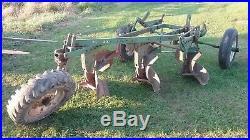 Oliver 3 Bottom Trailer Plow farmall john deere international allis Chalmers bt