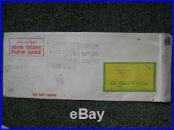 Original 1938 John Deere Plow Company Master Farmer Game w Envelope Very Neat