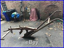 Original Antique Horse Drawn Plow Syracuse Chilled Plow Co. John Deere