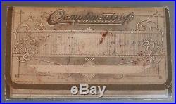 Rare 1903 John Deere Plow & Co. Moline, Illinois Farmers Pocket Companion