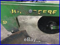 Rare! Vintage John Deere Model 20 Plow 3 Point CAT 0 Moldboard Plow TY20039
