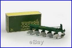 Sigomec John Deere 875 Plow in Original Box, MINT! 1/16