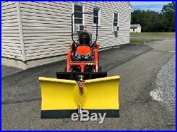 Skidsteer V-Plow John Deere Kubota Compact Tractor