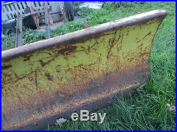 USED/LOW HRS/1990 John Deere/260 FRONT 48 DIRT/SNOW PLOW ASSEMBLY/COMPLETE
