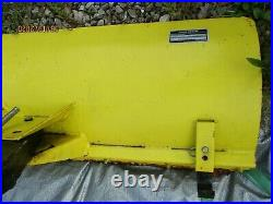 USED/VERY LOW HRS/1990 John Deere 42 DIRT/SNOW PLOW ASSEMBLY/LX SERIES UNIT