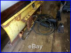 Used John Deere 54 Blade Snow Plow Quick Hitch 425 445 455 Garden Tractor