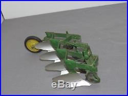Vintage 1957 John Deere Tru Scale Eska Carter Mounted 4 Bottom Tillage Plow NICE