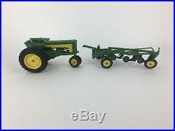 Vintage Eska Ertl John Deere 620 Tractor with 4 Row Plow