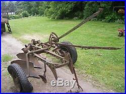 John Deere Plow » Vintage John Deere 3 Bottom Plow tow Pull
