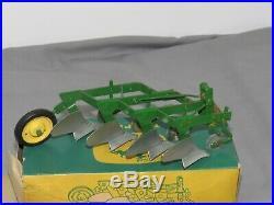 Vintage John Deere 4 Bottom Mounted 3 Point Plow CARTER 116 NIB nice Box! Ertl