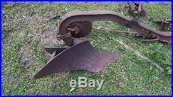 Vintage Original JOHN DEERE L, LA, LI Tractor Moldboard Mounted Plow one bottom