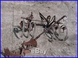 Vintage Original JOHN DEERE UnStyled L Cultivator Parts And Plow Bracket