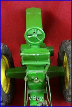 Vintage Tractor-plow John Deere Metal 730 116 Sigomec Argentina. Advertising