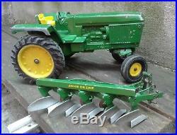 Vintage Very Rare John Deere Argentina Sigomec Tractor With Plow 1/16